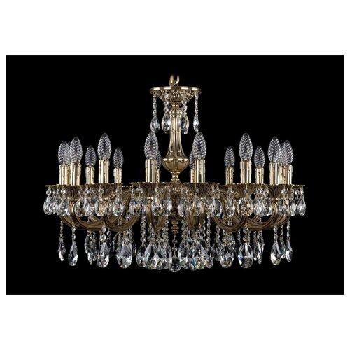 Люстра Bohemia Ivele Crystal 1702/16/250/A/GB, E14, 640 Вт