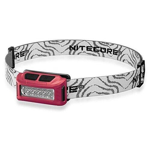 Налобный фонарь Nitecore NU10 CRI красный
