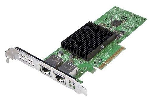 Сетевая карта DELL 57406 Dual Port 10 Gigabit PCIe Adapter (406-BBKU)