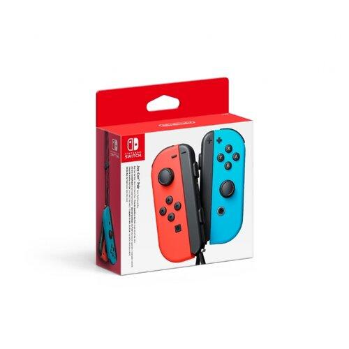 Аксессуар для Nintendo Switch: Набор - 2 контроллера Joy-Con (неоновый красный / неоновый синий) геймпад nintendo switch joy con controllers duo красный синий