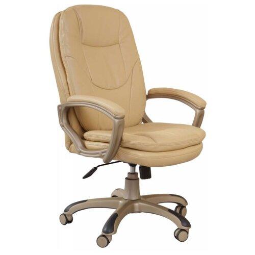 Компьютерное кресло Бюрократ CH-868AXSN для руководителя, обивка: искусственная кожа, цвет: beige