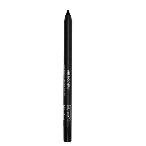 Yllozure Стойкий контурный карандаш для глаз Art Nouveau, оттенок черный гель для душа yllozure yllozure yl001lwfz982