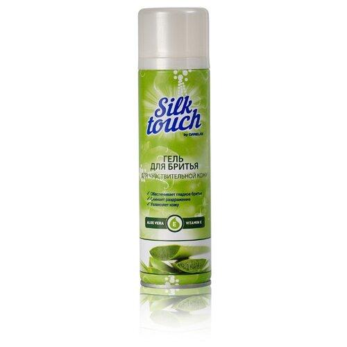 Carelax Гель для бритья Silk Touch для чувствительной кожи 200 мл