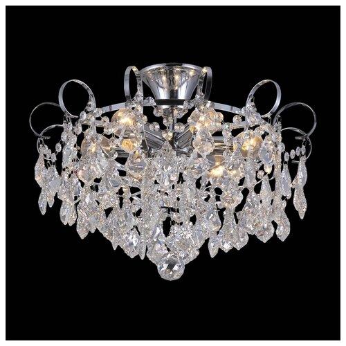 Люстра Natali Kovaltseva HAPPY DIAMONDS 11545/6C CHROME, E14, 360 Вт люстра natali kovaltseva happy diamonds 11545 8c chrome e14 480 вт