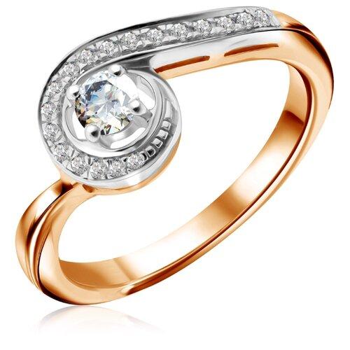 Бронницкий Ювелир Кольцо из красного золота R 61784, размер 16 кольцо из золота r 61902