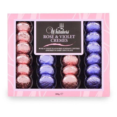 Набор конфет Whitakers Цветочная коллекция с кремовой начинкой со вкусом Розы и Фиалки 200 г