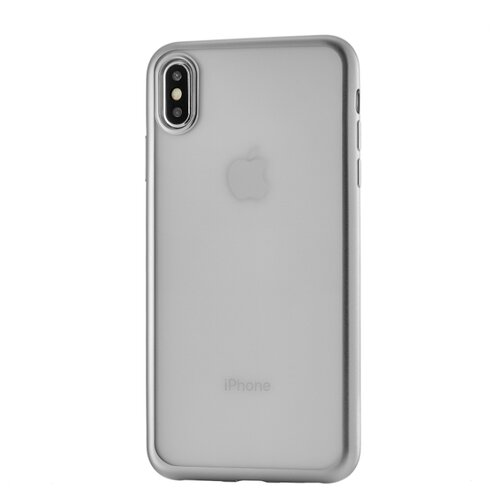 Чехол-накладка uBear Frame Tone Case для Apple iPhone Xs Max для Apple iPhone Xs Max silver чехол ubear tone case для apple iphone xs max прозрачный