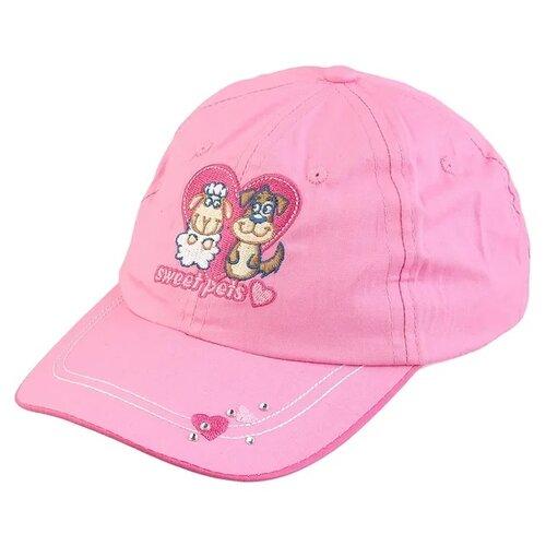 Купить Бейсболка Be Snazzy размер 48, темно-розовый, Головные уборы