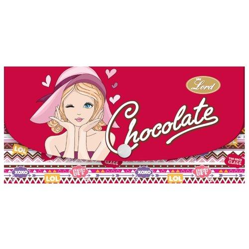 Шоколад Lord молочный 40% в пестрой сумочке, 100 г