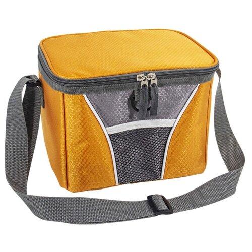 ECOS Термосумка СВ-87/СВ-88 оранжевый/серый 6 л коляска 3 в 1 indigo marco art f mr 10 св серый узор т серый св серая кожа