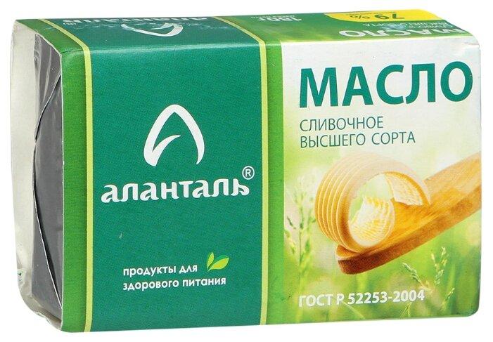 Аланталь Масло сливочное Высшего сорта 79%, 180 г