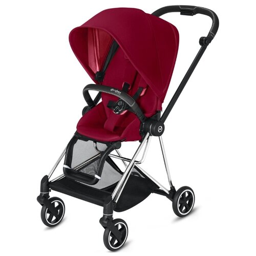 Купить Прогулочная коляска Cybex Mios 2019/2020 true red/chrome/black, цвет шасси: серебристый, Коляски
