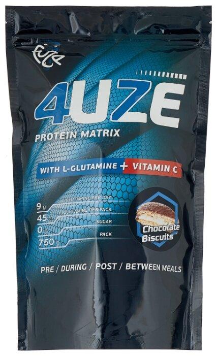 Купить Протеин Fuze Protein Matrix Glutamine + Vitamin C (750 г) шоколадное печенье по низкой цене с доставкой из Яндекс.Маркета (бывший Беру)