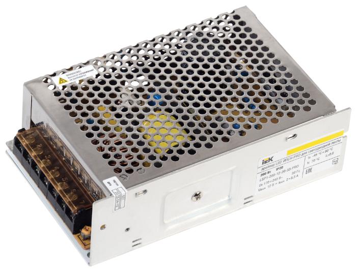 Блок питания для LED IEK LSP1-200-12-20-33-PRO 200 Вт