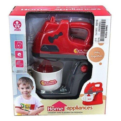 Купить Блендер Yako Y3063392 красный/черный, Детские кухни и бытовая техника