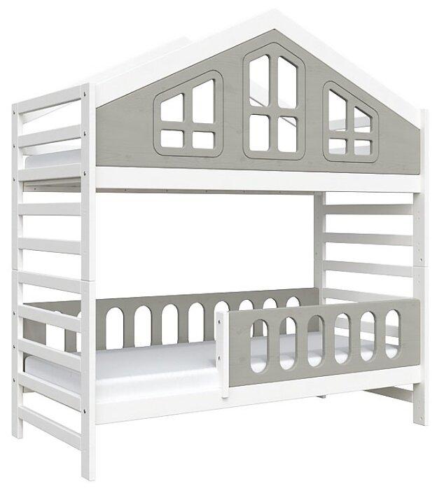Двухъярусная кровать детская Domus Mia Royal Alfa