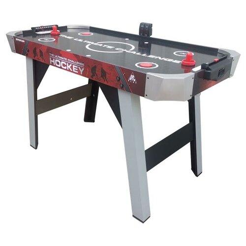 Фото - Игровой стол для аэрохоккея DFC Enforcer AT-125 черный/серый/красный игровой стол для аэрохоккея dfc baltimor ds at 09 красный черный