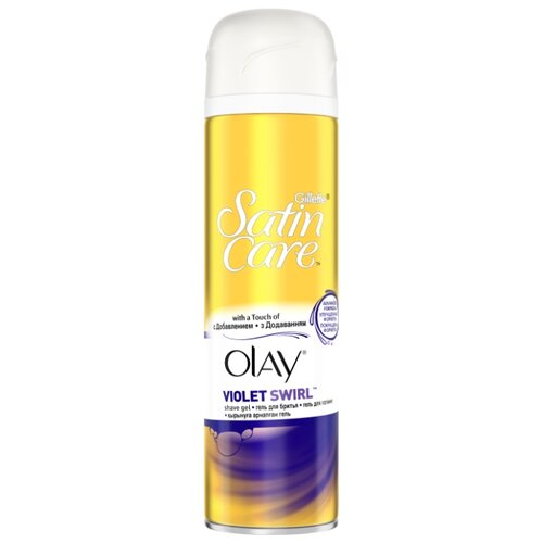 Venus Гель для бритья Satin Care Olay Violet Swirl 200 мл