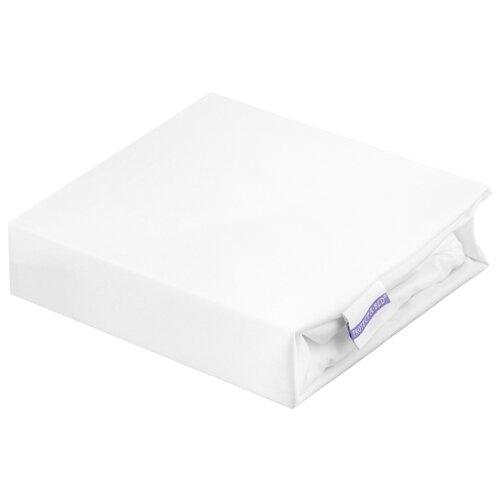 Наматрасник Аскона водонепроницаемый, 160х200х30 см белый