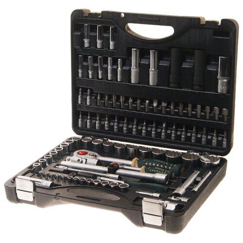 Набор автомобильных инструментов ROCKFORCE (94 предм.) RF-4941-9 черный набор автомобильных инструментов зубр 53 предм 27640 h53 серебристый черный