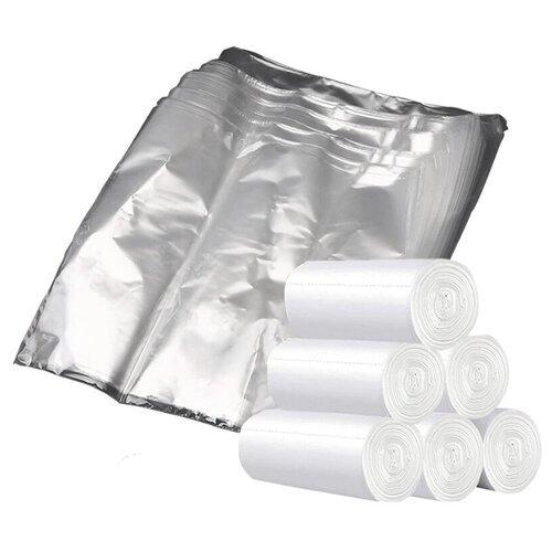 Пакеты для заморозки продуктов Homsu, 24* 40 см, 180 шт (6 роликов x 30 шт)