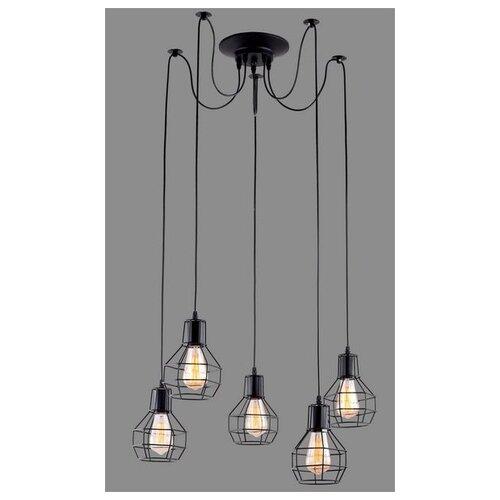 Люстра Arte Lamp A1109SP-5BK, E27, 300 Вт