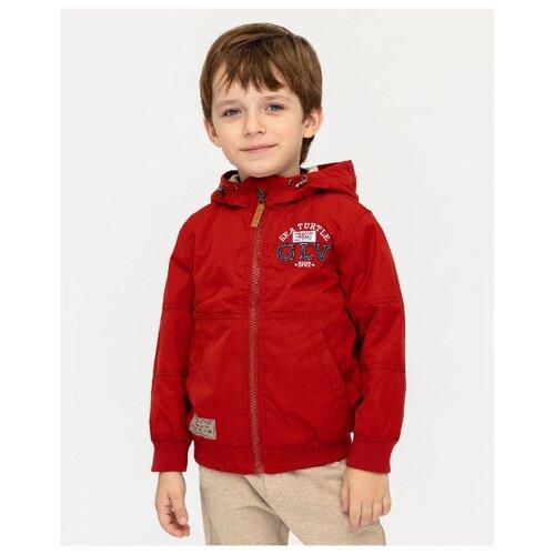 Купить Ветровка Gulliver 12005BMC4005 размер 128, красный, Куртки и пуховики