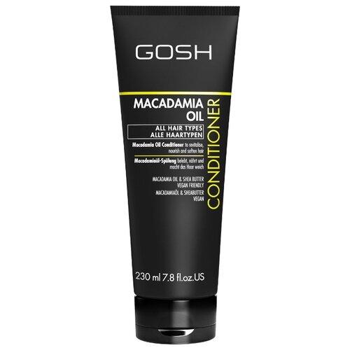 GOSH кондиционер Macadamia Oil с маслом макадамии, 230 мл gosh macadamia oil shampoo