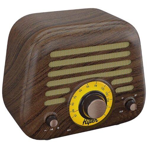 Купить Портативная акустика HIPER Retro L wooden