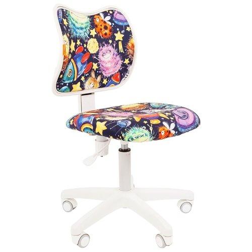 Компьютерное кресло Chairman Kids 102 детское, обивка: текстиль, цвет: нло кресло chairman kids 105 ткань нло