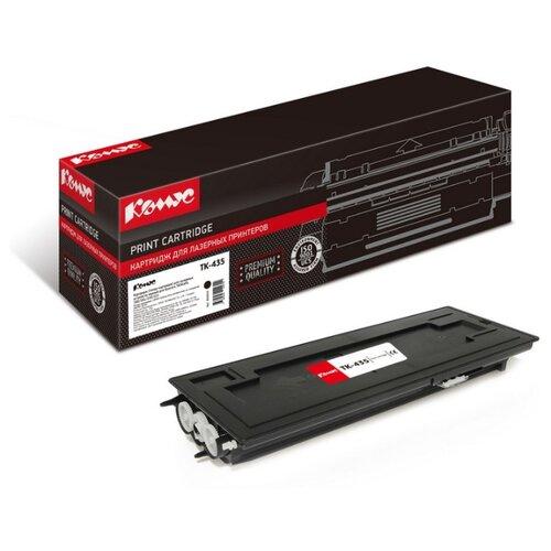 Фото - Картридж лазерный Комус TK-435 черный, для Kyocera TASKalfa 180/181 картридж лазерный комус tk 580k черный для kyocera fs c5150dn
