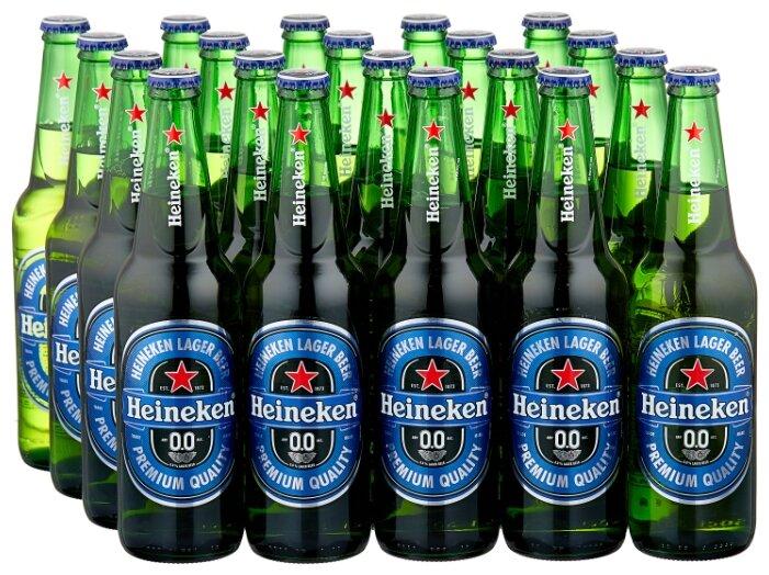 Пиво Heineken безалкогольное 0.5л 20 шт