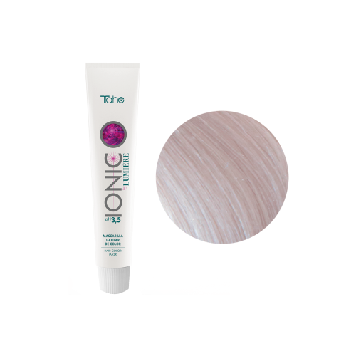 Tahe Окрашивающая маска для волос цвет/ прозрачный бриллиант Ionic by Lumiere pH 3,5 Hair Color Mask Shine Brilliant 100 мл.