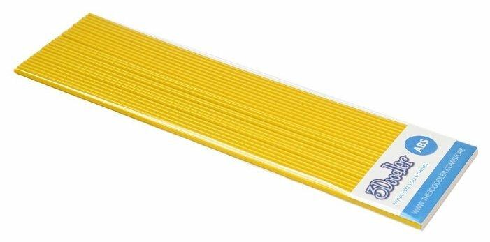 ABS пруток 3Doodler Create 3 мм желтый