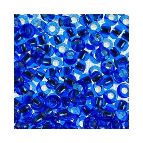 Купить Бисер Preciosa , 10/0, 50 грамм, цвет: 37030 синий, Фурнитура для украшений