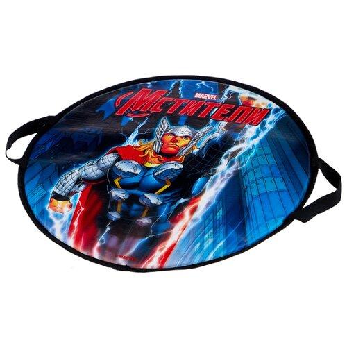 Фото - Ледянка 1 TOY Thor (Т58171) синий/серый/красный ледянка 1 toy человек паук т59096 красный синий