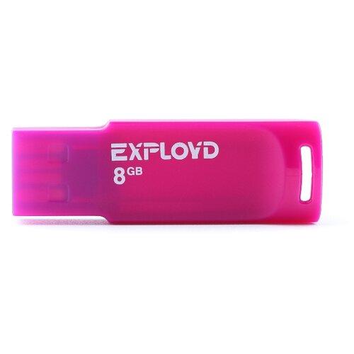 Фото - Флешка EXPLOYD 560 8GB violet usb flash drive 8gb exployd 560 red ex 8gb 560 red