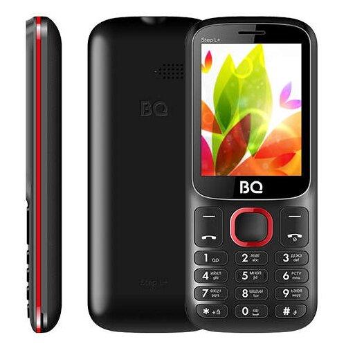 Телефон BQ 2440 Step L+ черный / красный телефон
