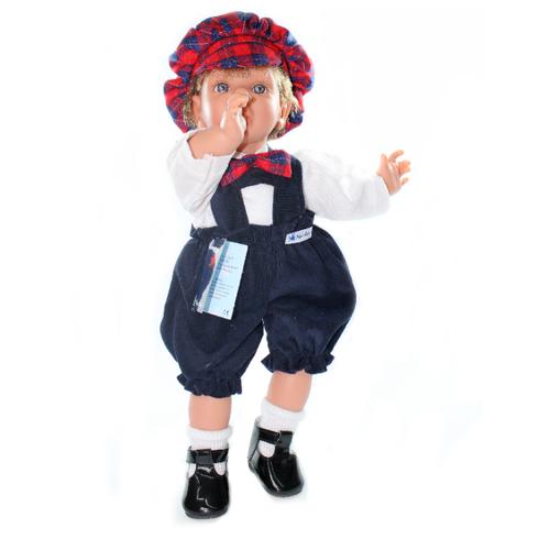Кукла Lamagik Пальчик во рту мальчик, 38 см, 12010C