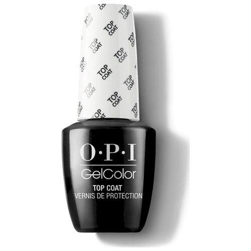 OPI верхнее покрытие GelColor Top Coat 15 мл бесцветный недорого