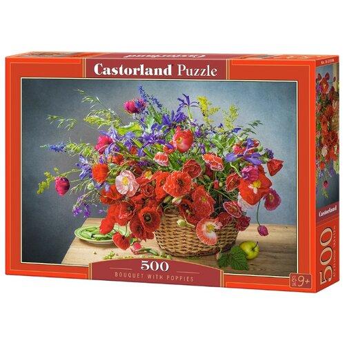 Фото - Пазл Castorland Bouquet with Poppies (B-53506), 500 дет. пазл castorland old sutter's mill b 52691 500 дет