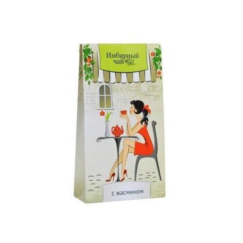 Чай травяной Green Side Имбирный c жасмином в пакетиках , 30 г , 20 шт. чай травяной polezzno ромашка и липа в пакетиках 30 г 20 шт