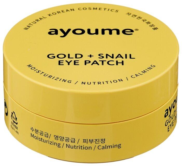 Ayoume Патчи для глаз Gold+Snail Eye Patch