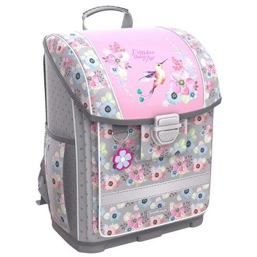 Купить ErichKrause ранец ErgoLine Colibri, розовый/серый, Рюкзаки, ранцы