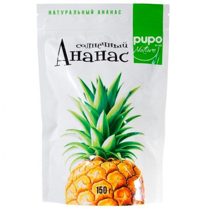 Pupo Солнечный ананас сушёный (150 г)