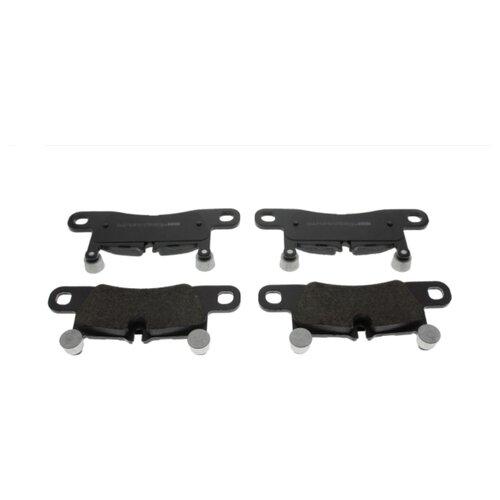 Дисковые тормозные колодки задние Ferodo FDB4424 для Porsche Cayenne, Porsche 911, Porsche Boxster, Volkswagen Touareg (4 шт.) keropur porsche