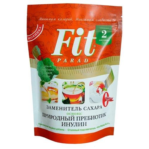 Fit Parad сахарозаменитель №11 с пребиотиком, дой-пак порошок 200 г 1 шт. семена льна fit parad с содержанием калия магния железа селена кальция 200 г