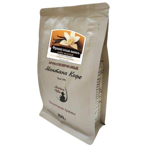 цена на Кофе молотый Монтана Французская ваниль ароматизированный, 100 г
