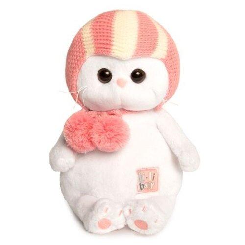 Купить Мягкая игрушка Basik&Co Кошка Ли-Ли baby в спортивной шапке 20 см, Мягкие игрушки