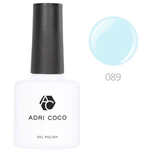 Гель-лак для ногтей ADRICOCO Gel Polish, 8 мл, 089 светло-голубой
